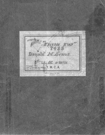 YMCA Notebook Cover