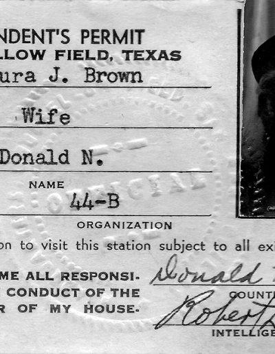 Dependents permit (San Angelo, Texas)