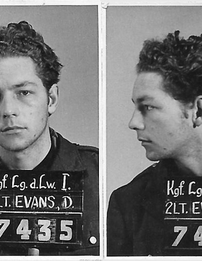 Don's mug shot as he entered Stalag Luft I