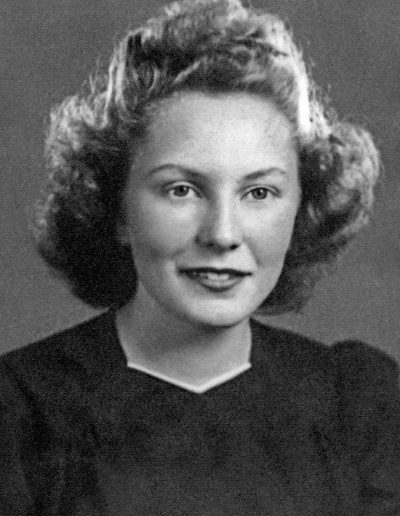 Laura Jeanne's Lehi High School graduation photo (1943)